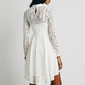 Free People Hearts Delight Lace Dress